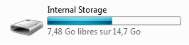 itunes PC storage