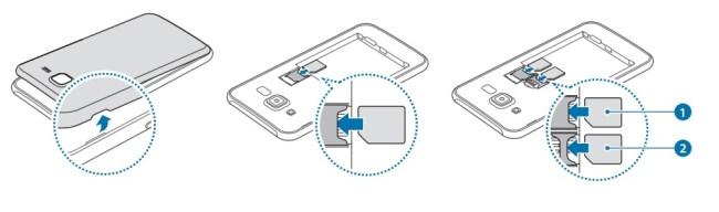 Samsung Galaxy J5 carte SIM
