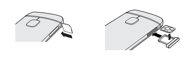 HTC One M9-carte-sim