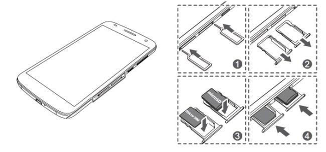 Huawei G7 carte SIM
