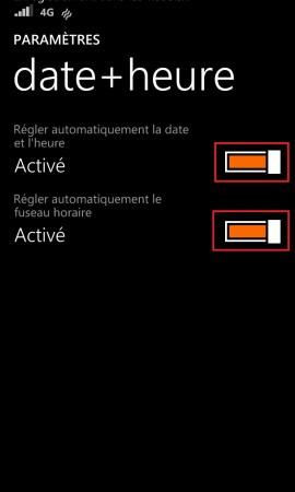 Windows store windows 8.1 date et heure auto