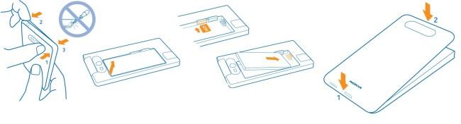 Nokia Lumia 735 carte SIM