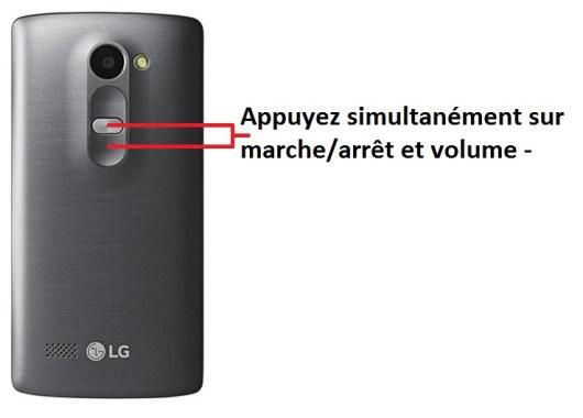 LG Leon screenshot