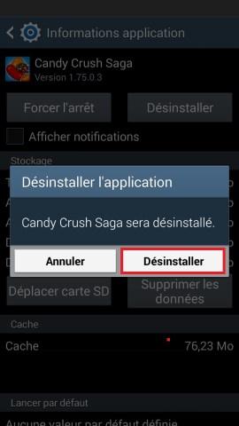 Applications Samsung android 4 desintaller appli 2