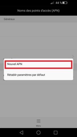 MMS Huawei configuration MMS APN