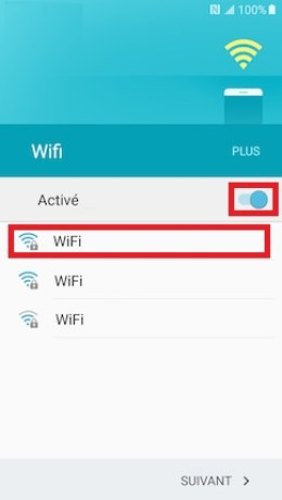 Activation Samsung (android 6.0) wifi 3