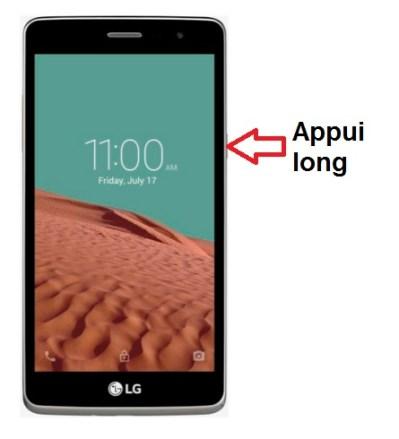 LG Bello II allumage