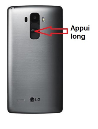 LG G4 stylus allumage