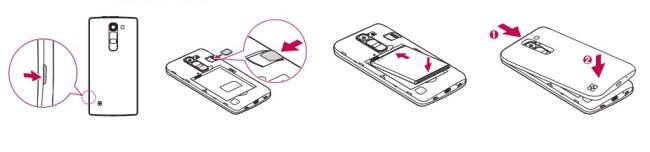 LG G4c carte SIM