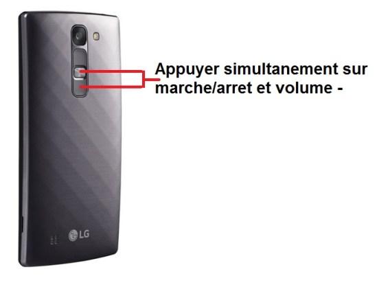 LG G4c screenshot