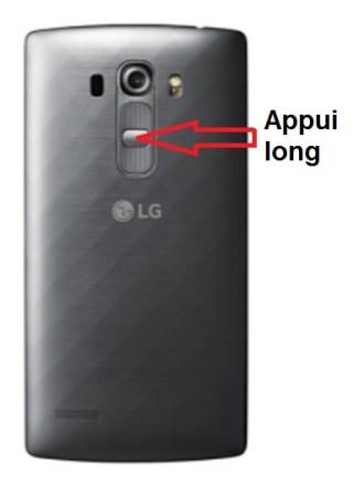 LG G4s allumage