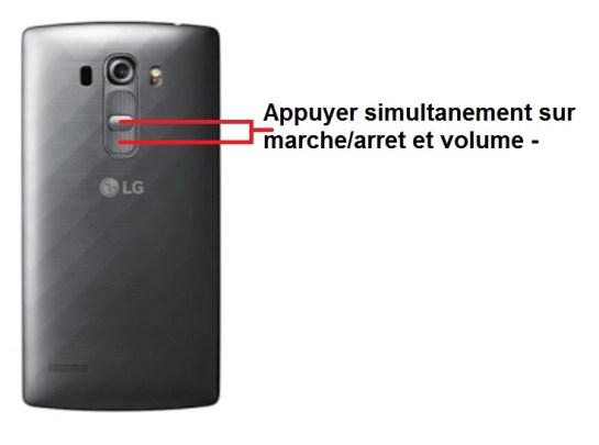 LG G4s screenshot