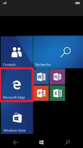 Internet Lumia Windows 10 microsoft edge