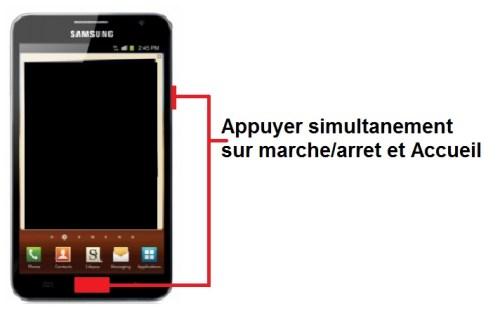 Samsung Galaxy Note screenshot