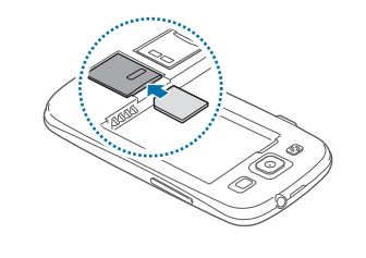 Insérer Carte SIM & Changer Code PIN : Samsung Galaxy S3