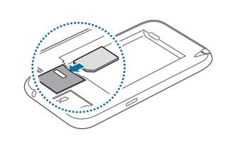 Insérer Carte SIM & Changer Code PIN : Samsung Note 2