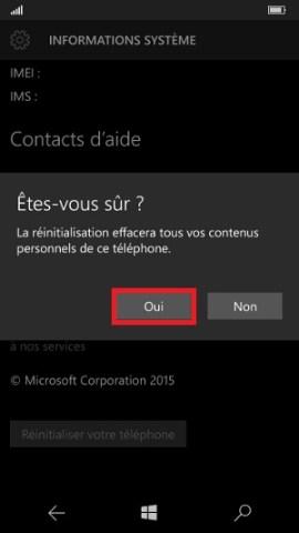Sauvegarder réinitialiser restaurer mettre à jour son Lumia windows 10