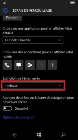 contact code pin ecran verrouillage Microsoft Nokia Lumia (Windows 10) verrou vieille