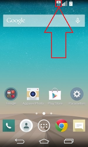 LG android 4.4 logo H 2
