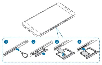 Samsung Galaxy A3 2016 carte SIM