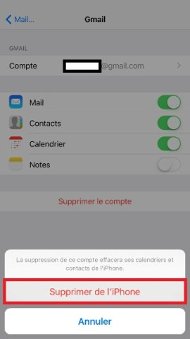 iphone 6 mail supprimer 3