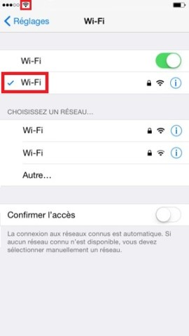 internet iPhone 6 6S plus SE Wifi