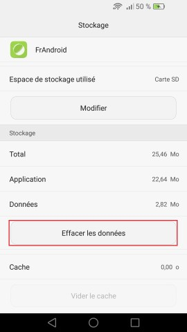Applications Huawei android 6.0 appli donner 2