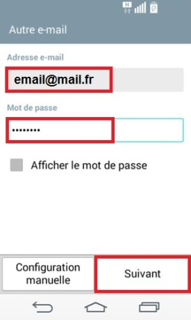 LG android 4.4 mail suivant