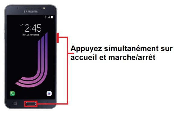Samsung Galaxy J7 2016 screenshot