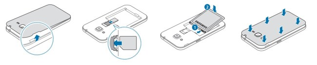 Samsung Galaxy Core prime carte SIM