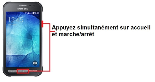 Samsung Galaxy Xcover 3 screenshot