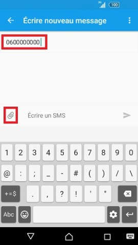 MMS Sony android 6.0 MMS