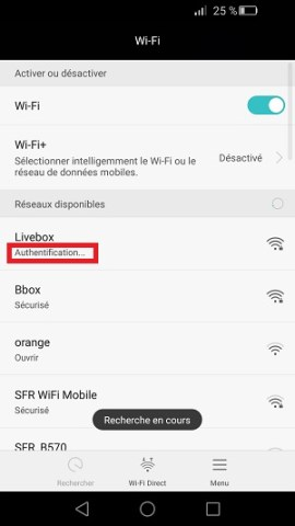 internet Huawei android 6 Wi-Fi