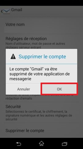 mail Sony android 4.4 mail suppression 2