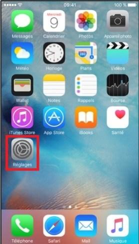 iPhone 6 reglages