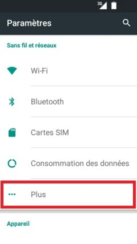 MMS Wiko android 5.1