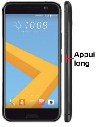 HTC 10-allumage