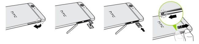 HTC One A9-carte-sim