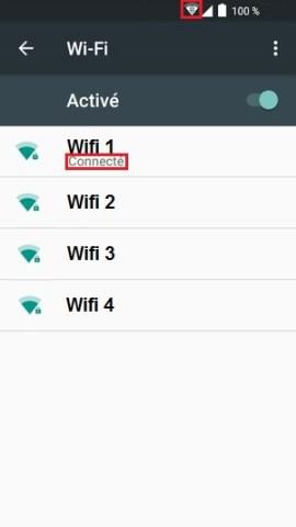 internet Alcatel android 6.0 Wifi