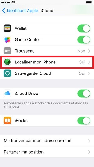 fonction localisation iphone 6s