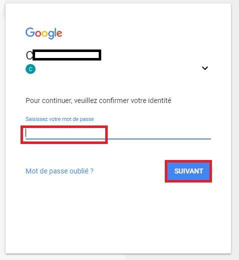 comment localiser portable compte google