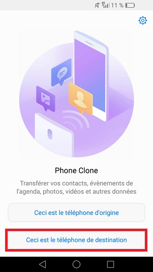 transf u00e9rer ses donn u00e9es huawei android 5  phone clone