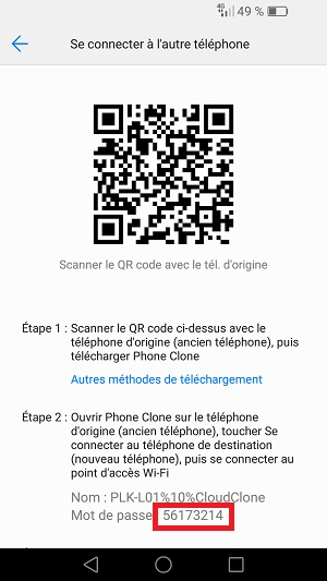 transf u00e9rer ses donn u00e9es huawei android 7  phone clone