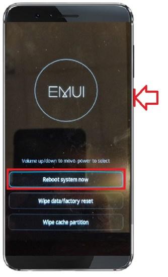 recovery mode Huawei