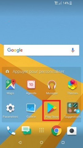 Application HTC installer