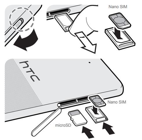 HTC Desire 650 Carte SIM