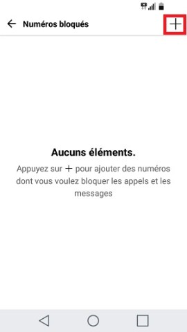 SMS LG android 7 bloqué SMS