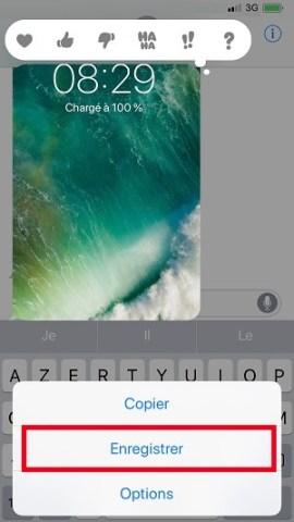 MMS iPhone X