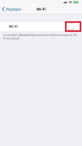 internet iPhone X Wifi