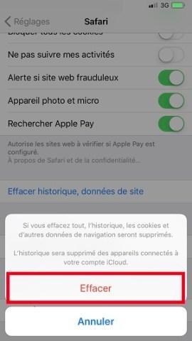 internet iPhone X Safari